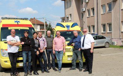 Ambulances voor Kosovo